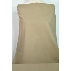 Strečová béžová bavlna