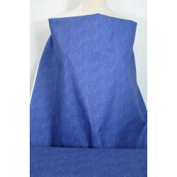 Bavlna modrá s jemným...