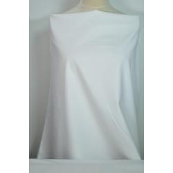 Bílý popelín s elastanem