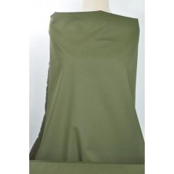Strečová khaki bavlna