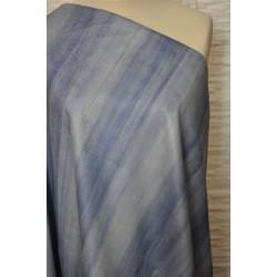 Kostýmová látka modré pruhy