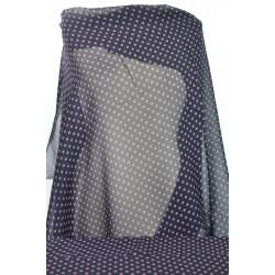 Šatovka černá, fialový puntík