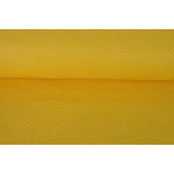 Žlutá bavlna s drobným...