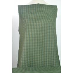 Kostýmové zelené káro