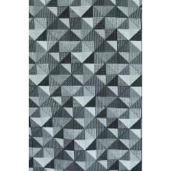 Bavlna s geometrickými vzory