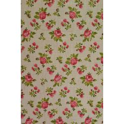 Bavlna s růžičkami