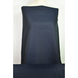 Tmavě modrá košilová látka