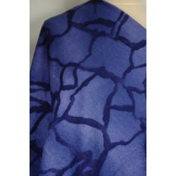 Úplet modrý se vzorem