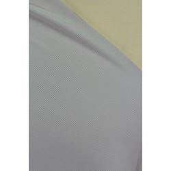 Úplet žebrovaný šedý